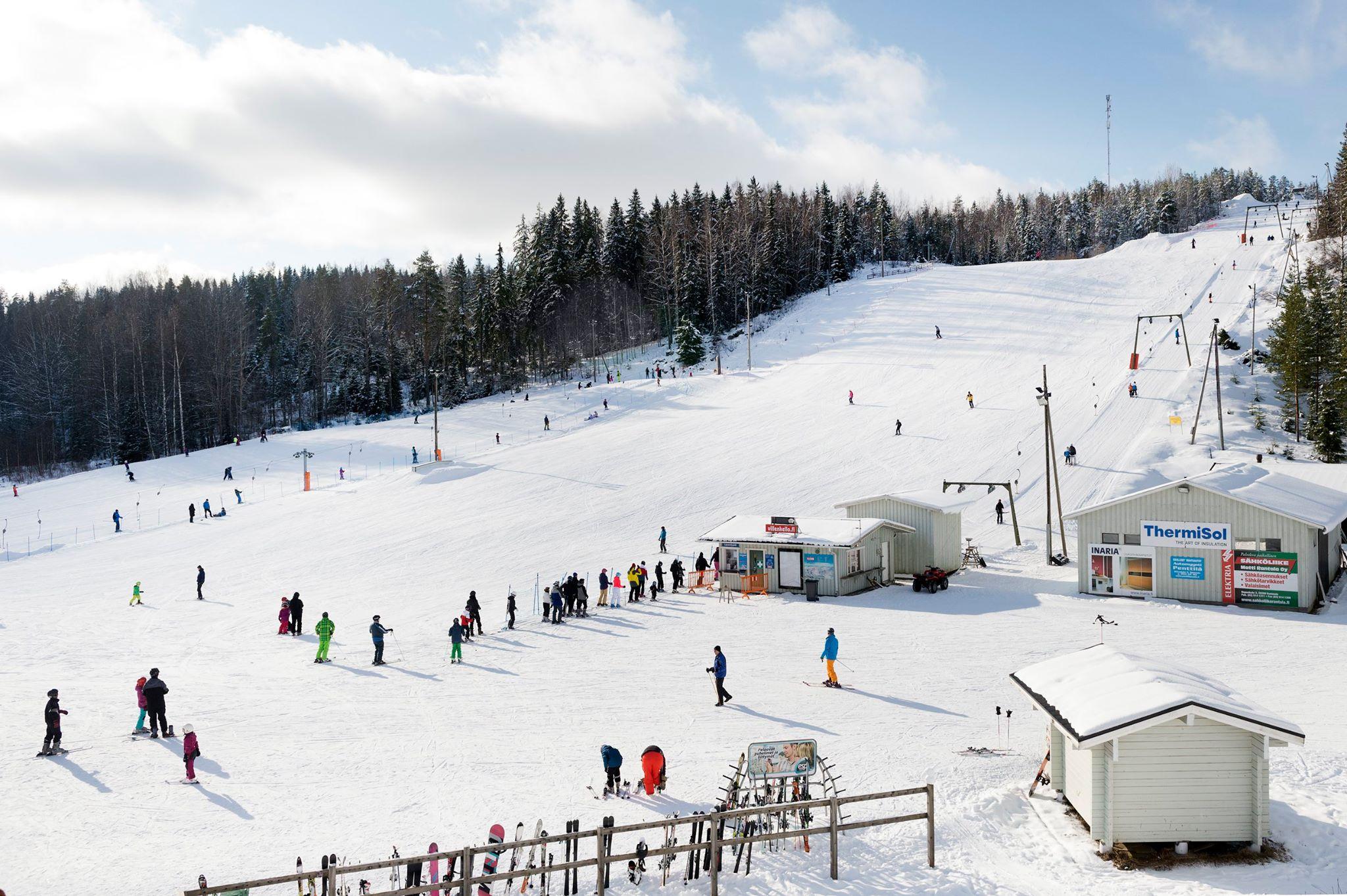 Koko Perheen Laskettelukeskus Ellivuori Ski Center